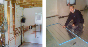 Underfloor heating Services Reigate